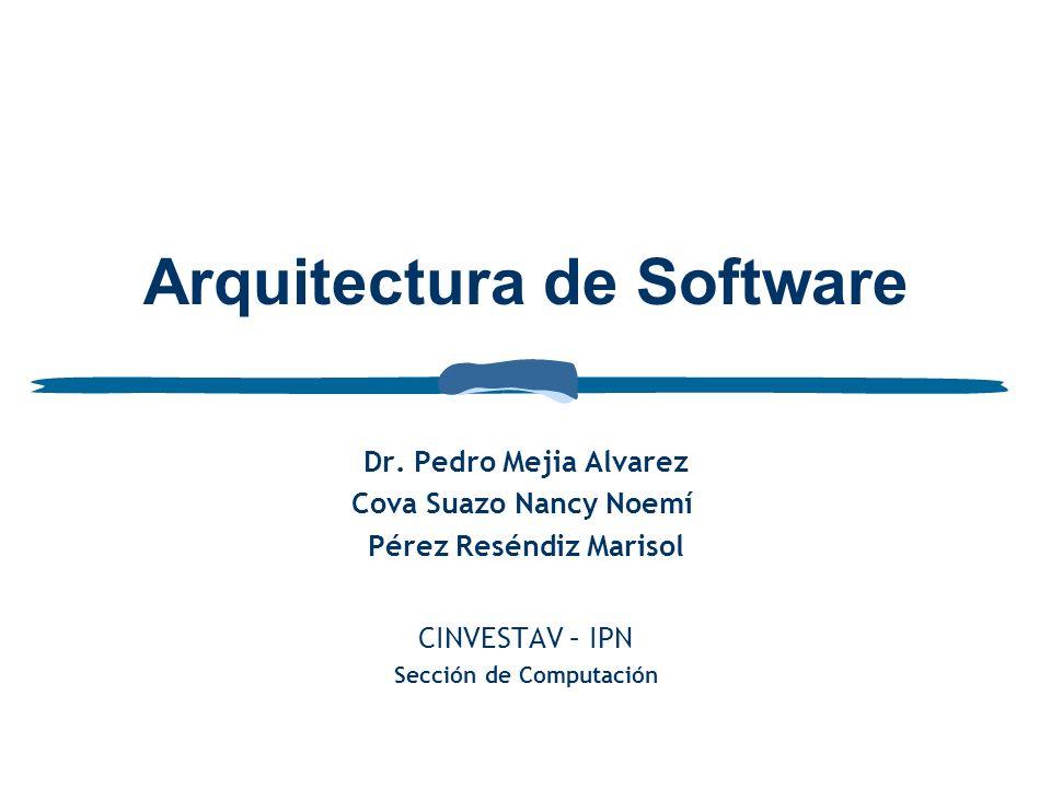 Arquitectura de Software Dr.