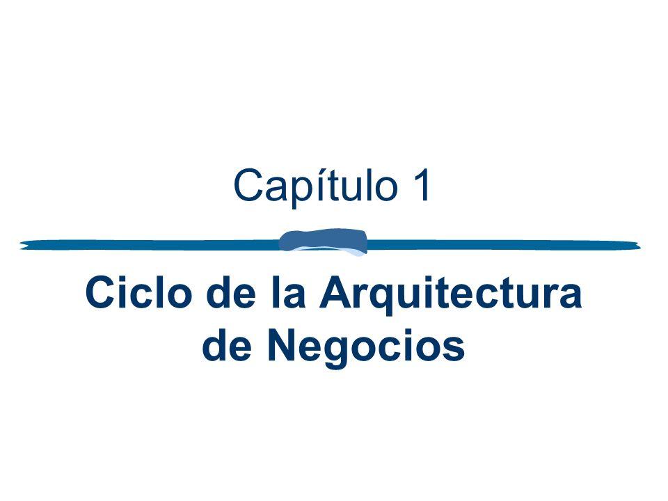 Capítulo 1 Ciclo de la Arquitectura de Negocios
