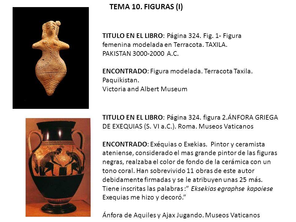 TITULO EN EL LIBRO: Página 324.Fig. 1- Figura femenina modelada en Terracota.