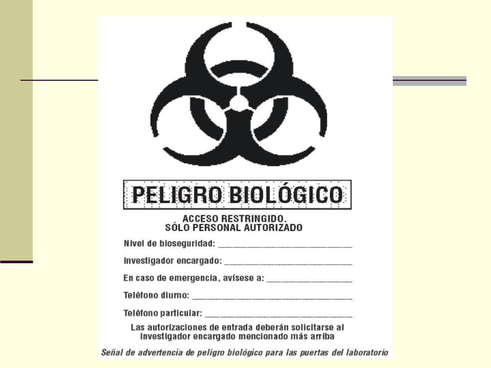 2.Sólo podrá entrar en las zonas de trabajo del laboratorio el personal autorizado.