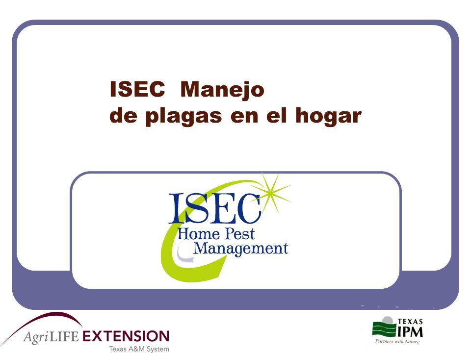ISEC Manejo de plagas en el hogar