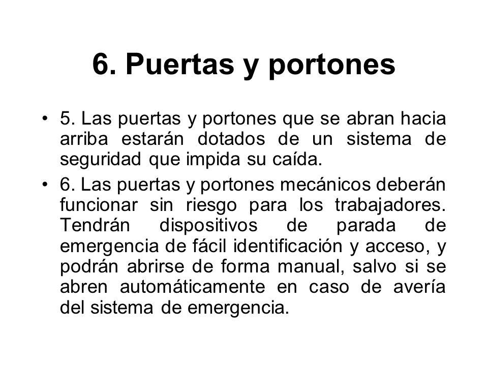 6.Puertas y portones 5.
