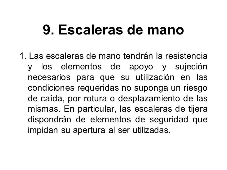 9.Escaleras de mano 1.