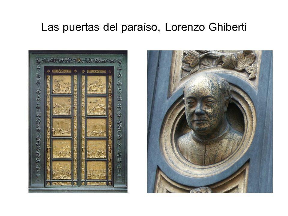 Las puertas del paraíso, Lorenzo Ghiberti