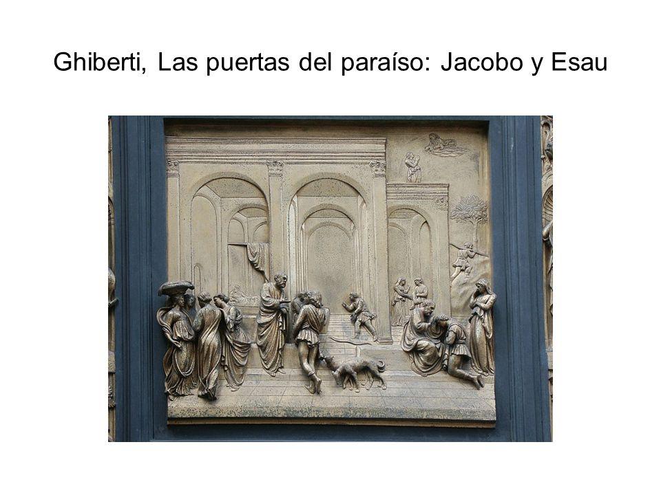 Ghiberti, Las puertas del paraíso: Jacobo y Esau
