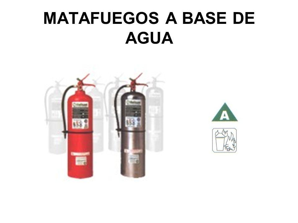 MATAFUEGOS A BASE DE AGUA