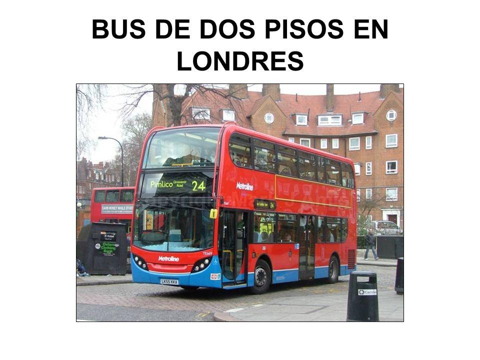 BUS DE DOS PISOS EN LONDRES