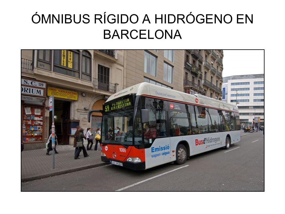 ÓMNIBUS RÍGIDO A HIDRÓGENO EN BARCELONA