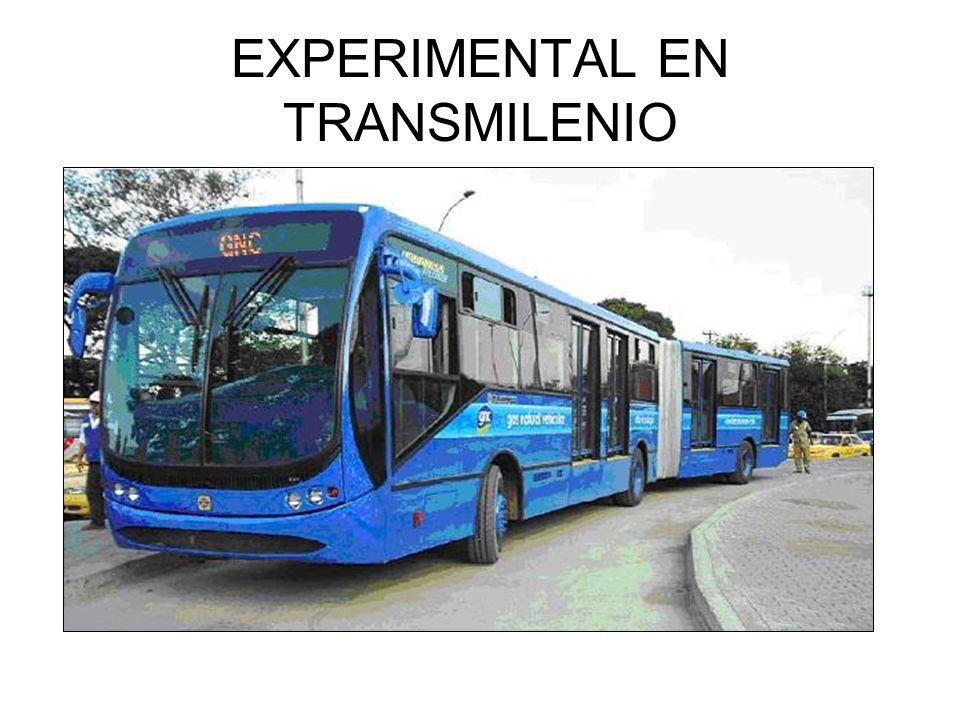EXPERIMENTAL EN TRANSMILENIO