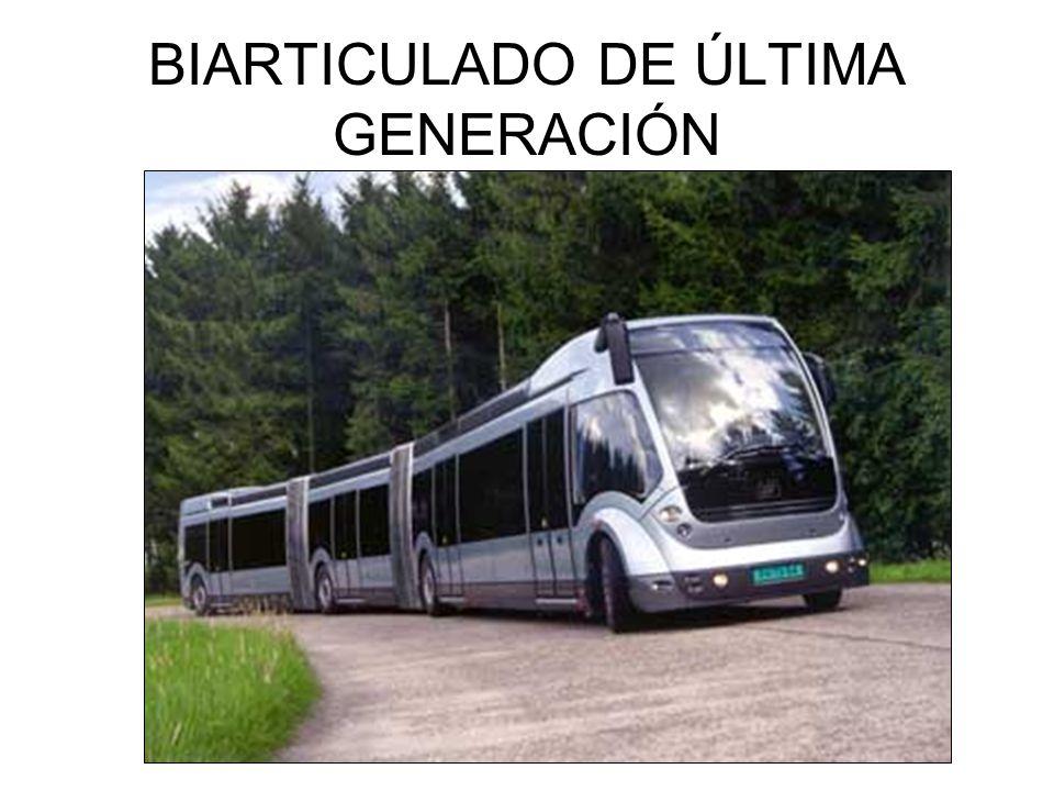 BIARTICULADO DE ÚLTIMA GENERACIÓN