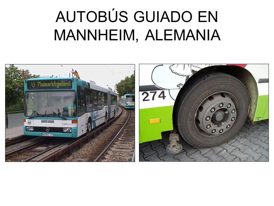 AUTOBÚS GUIADO EN MANNHEIM, ALEMANIA