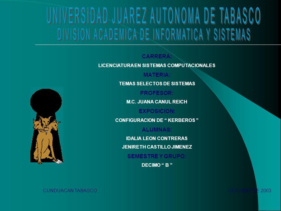 CARRERA: LICENCIATURA EN SISTEMAS COMPUTACIONALES MATERIA: TEMAS SELECTOS DE SISTEMAS PROFESOR: M.C.