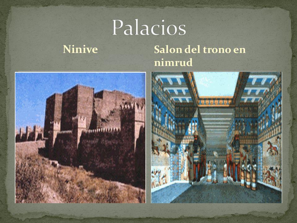 Ninive Salon del trono en nimrud