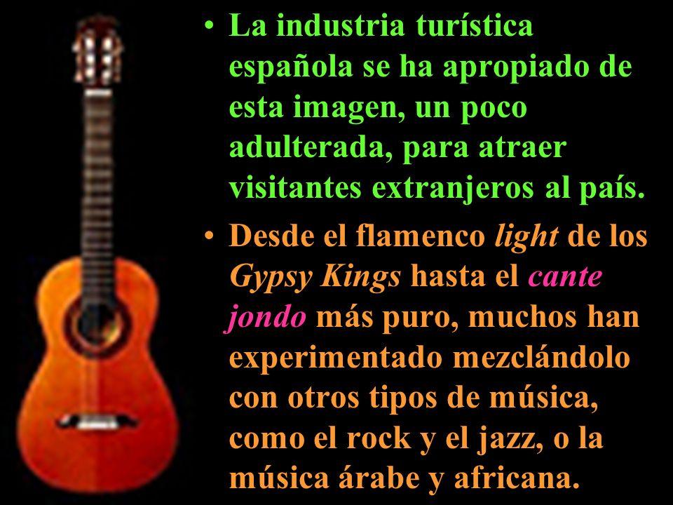 La industria turística española se ha apropiado de esta imagen, un poco adulterada, para atraer visitantes extranjeros al país. Desde el flamenco ligh