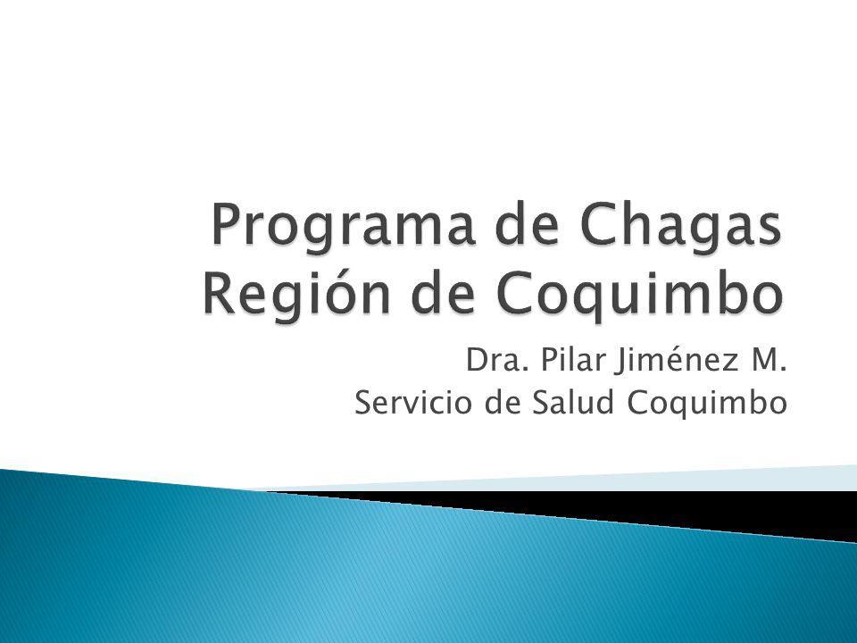 Dra. Pilar Jiménez M. Servicio de Salud Coquimbo