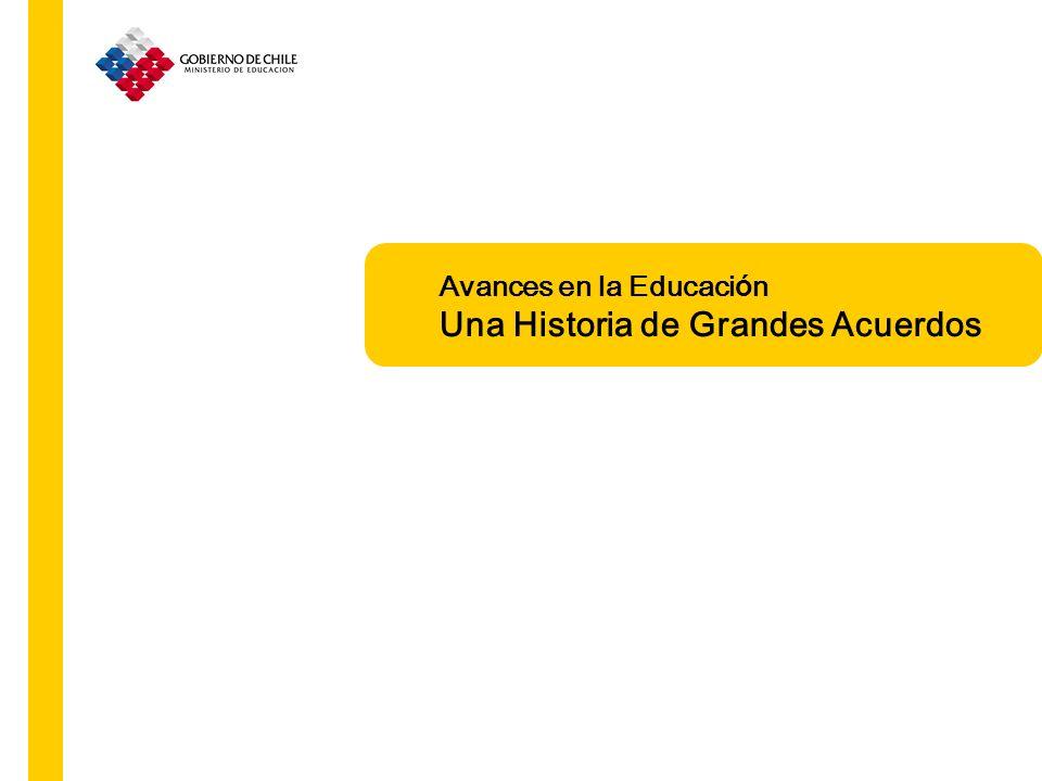 Acceso Obligatoriedad Gratuidad Grandes logros La Ley General de Educación se hace cargo de los nuevos desafíos La Educación frente a nuevos desafíos