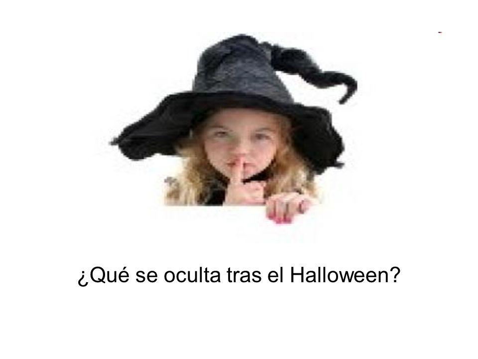 ¿Qué se oculta tras el Halloween?