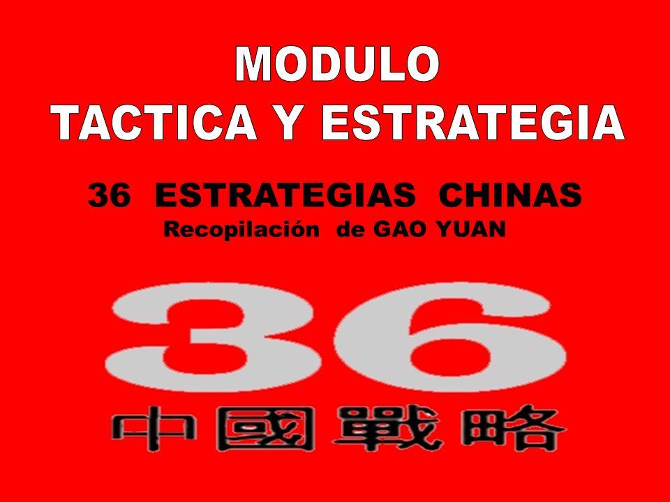 LAS 36 ESTRATEGIAS CHINAS Recopilación: Mgter.