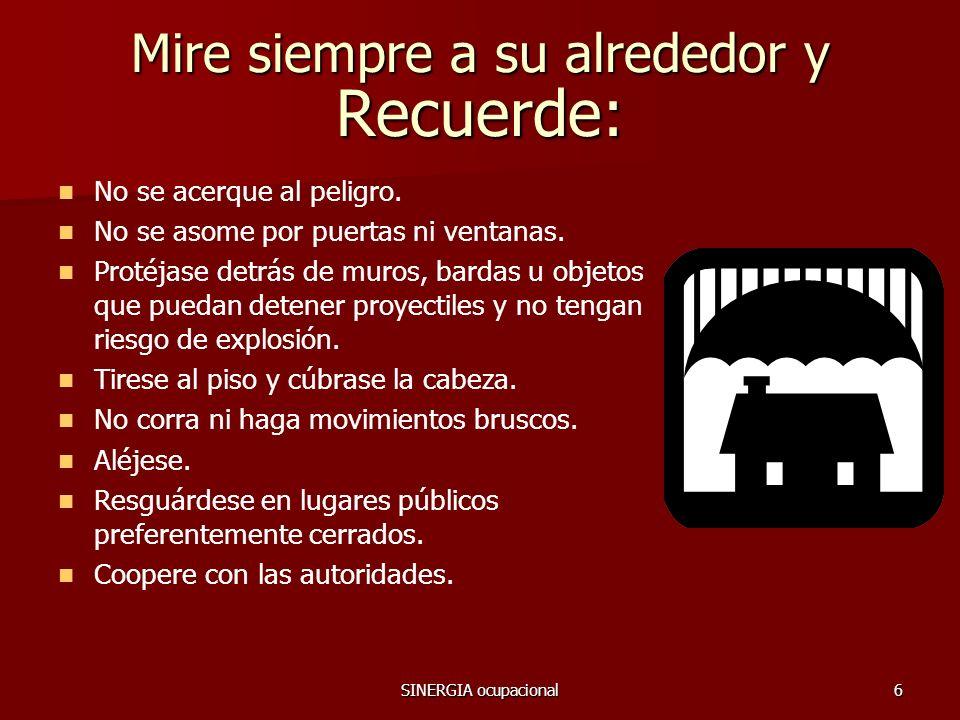 SINERGIA ocupacional7 COMITE DE RELACIONES INDUSTRIALES Y MASS 2009 Gracias por tomar esto en CONSIDERACION !!.