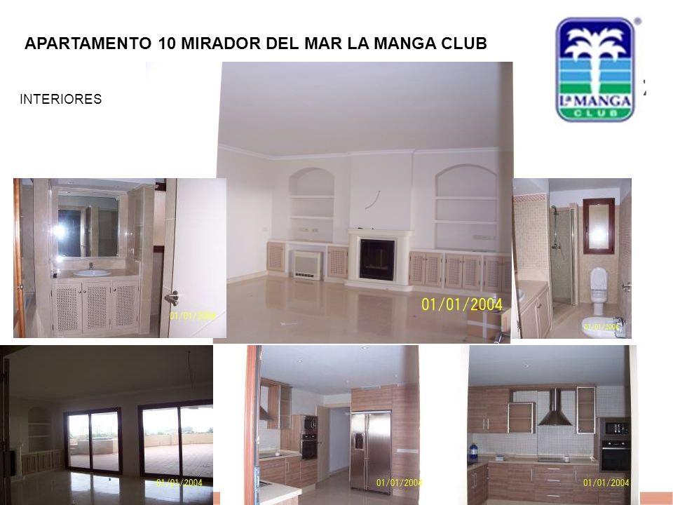 EVALUE finanzas corporativas 1 APARTAMENTO 10 MIRADOR DEL MAR LA MANGA CLUB INTERIORES