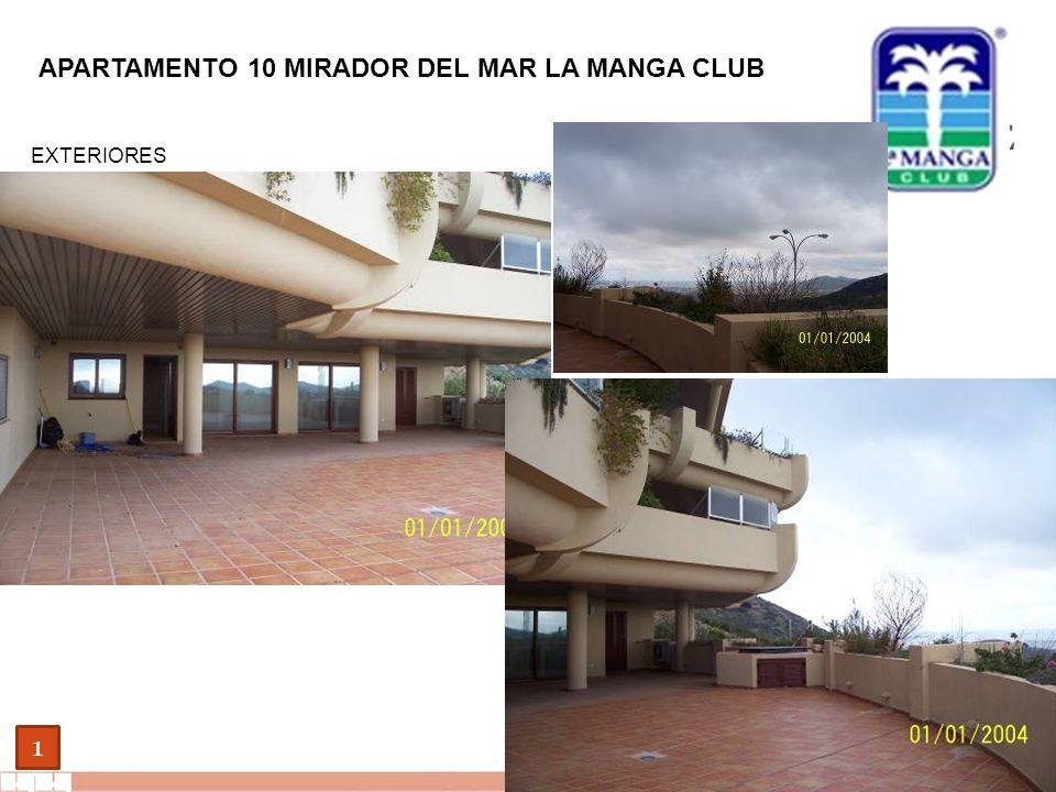 EVALUE finanzas corporativas 1 APARTAMENTO 10 MIRADOR DEL MAR LA MANGA CLUB EXTERIORES