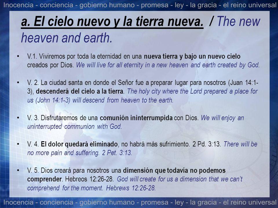 b.La nueva Jerusalén. Vs. 9-27. / The new Jerusalem.