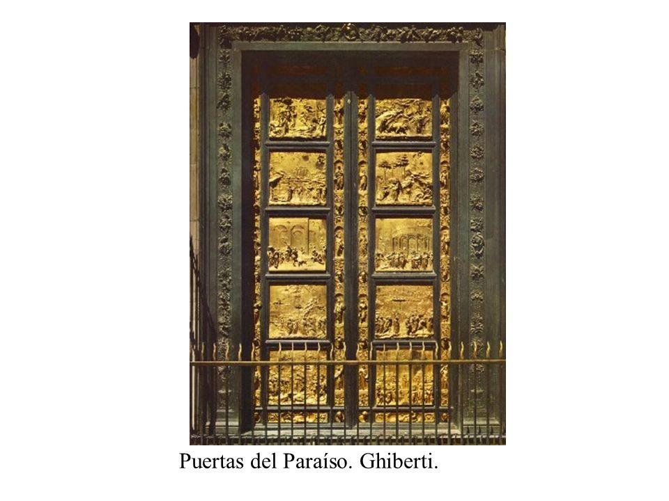 Puertas del Paraíso. Ghiberti.