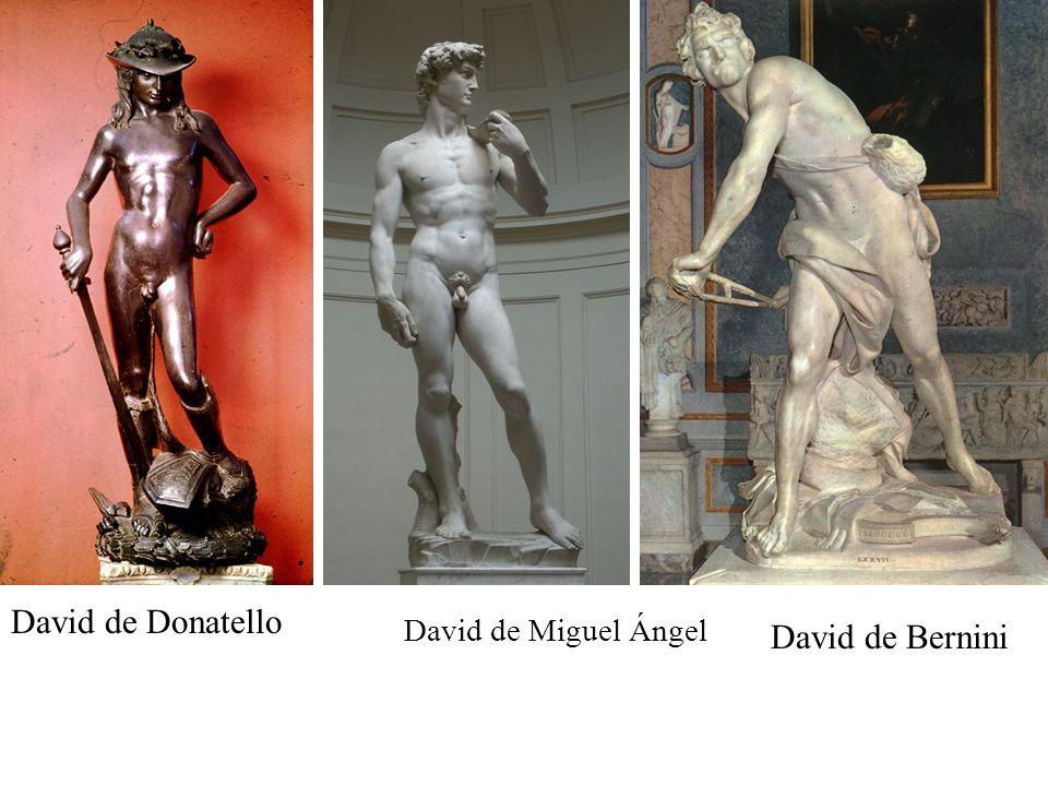 David de Bernini David de Miguel Ángel David de Donatello