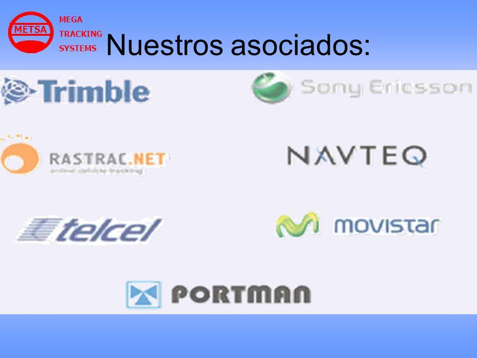 Nuestros asociados: MEGA TRACKING SYSTEMS METSA