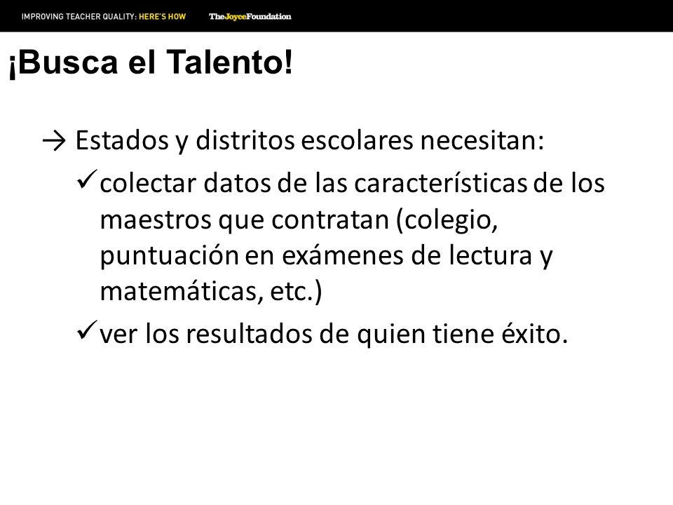 ¡Busca el Talento.