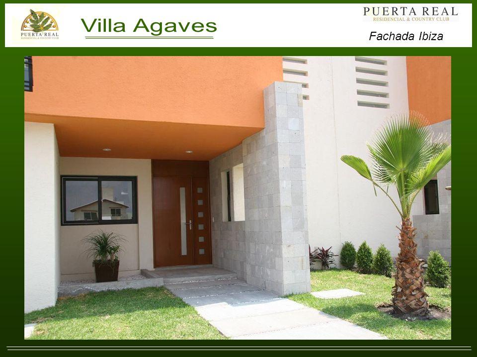 Villa Agaves (Residencias Ibiza). Fachada Ibiza
