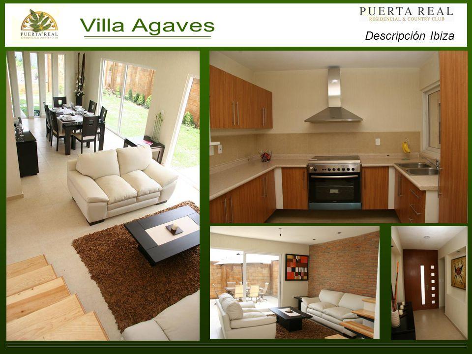 Villa Agaves (Residencias Ibiza). Descripción Ibiza