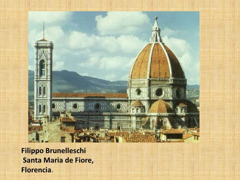 Il Duomo de Florencia 1414-1446. Filippo Brunelleschi (1377-1446)