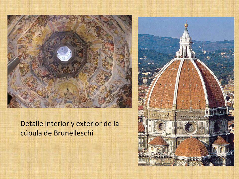 Lorenzo Ghiberti: Puertas de Bronce del Baptisterio de Florencia o Puertas de Paraíso Se representan 10 temas de la Sagrada Escritura