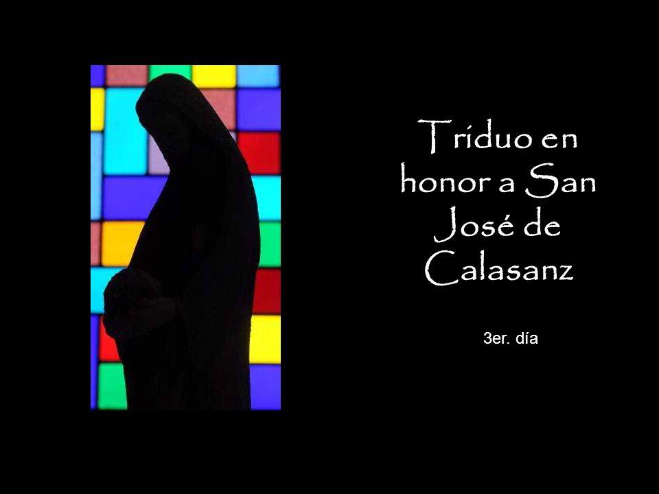 Triduo en honor a San José de Calasanz 3er. día
