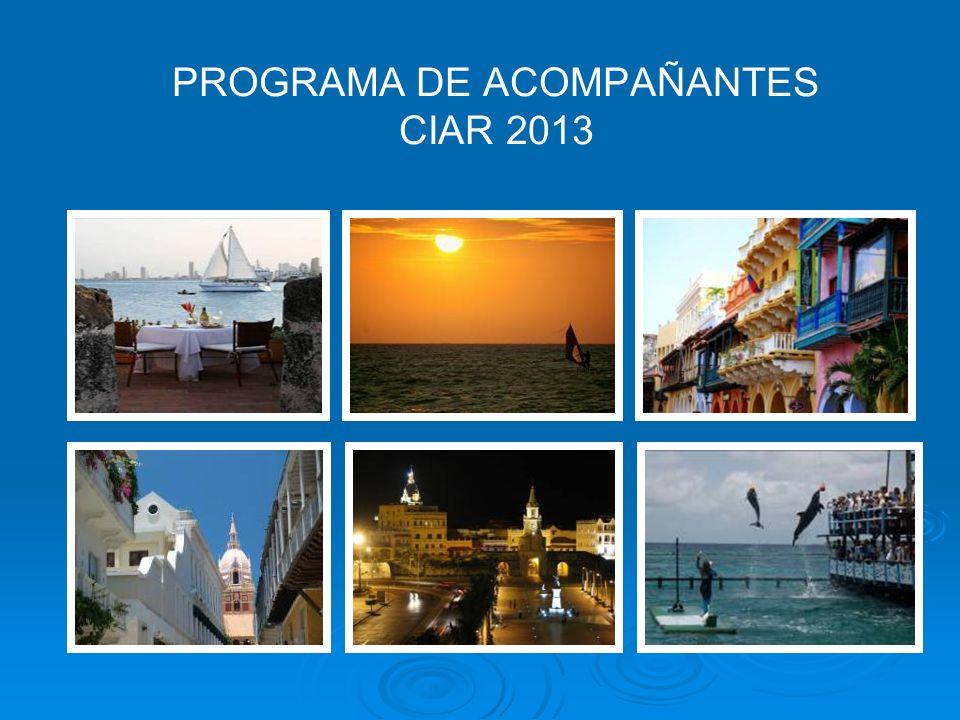 PROGRAMA DE ACOMPAÑANTES CIAR 2013