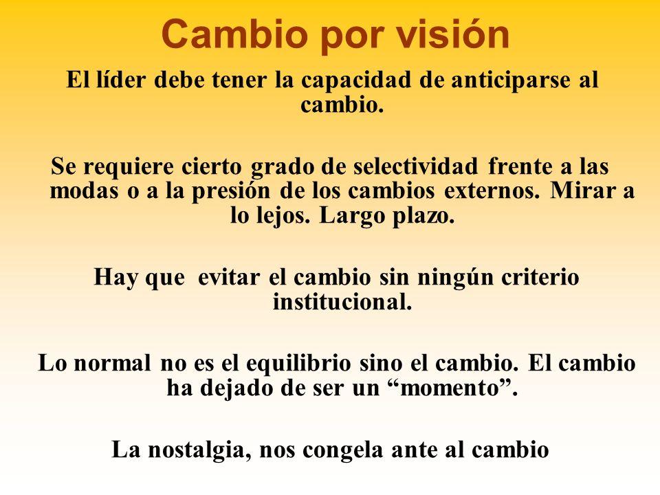 Visión Visión Una visión compartida es una fuerza en el corazón y en la mente de las personas, de gran poder organizacional.