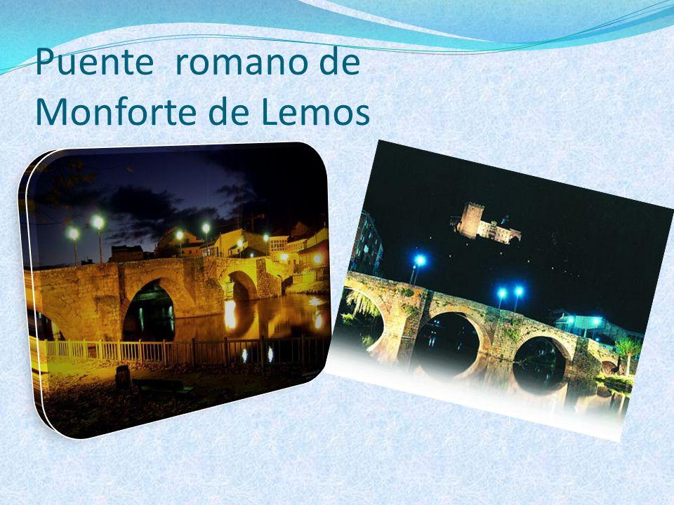 Puente romano de Monforte de Lemos