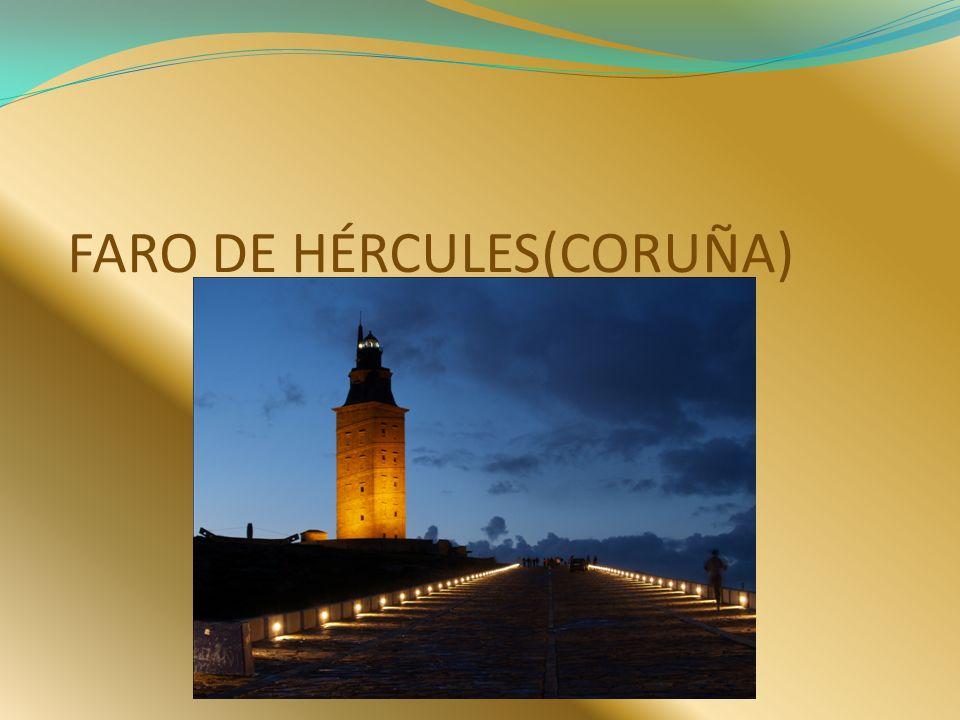 Es una torre y un faro situado en la península en la ciudad de Coruña, en Galicia España.