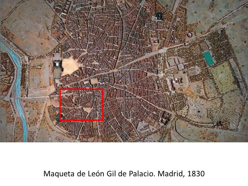 Maqueta de León Gil de Palacio. Madrid, 1830
