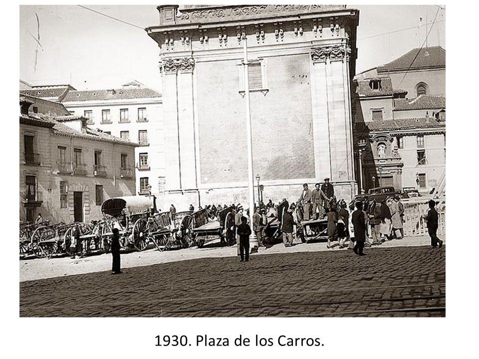 1930. Plaza de los Carros.