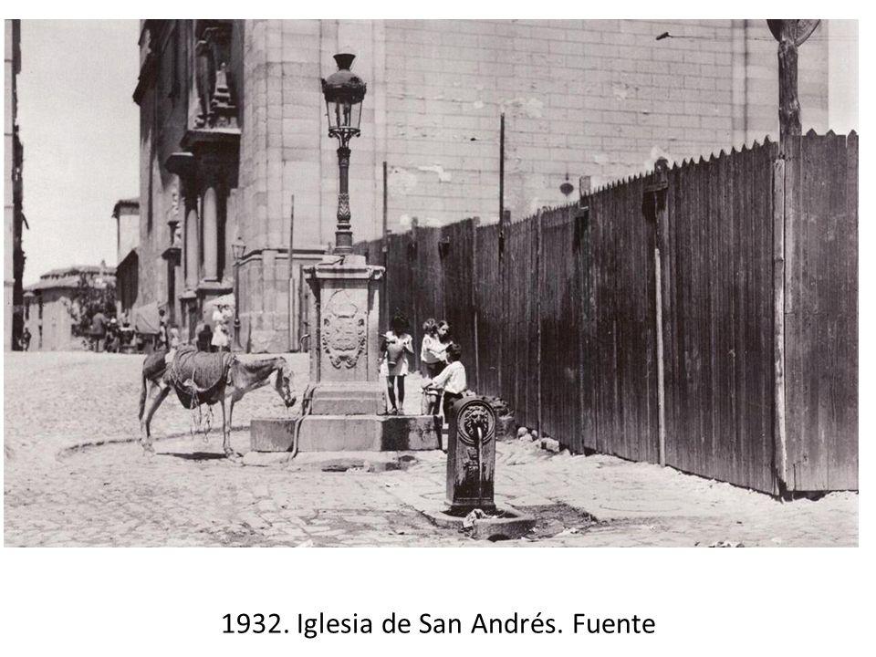 1932. Iglesia de San Andrés. Fuente