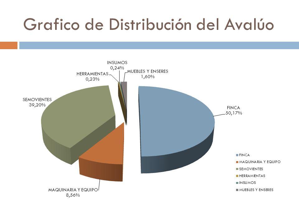 AVALUO UNIDAD DE PRODUCCION A continuación se presenta el Justiprecio de la Unidad de Producción.