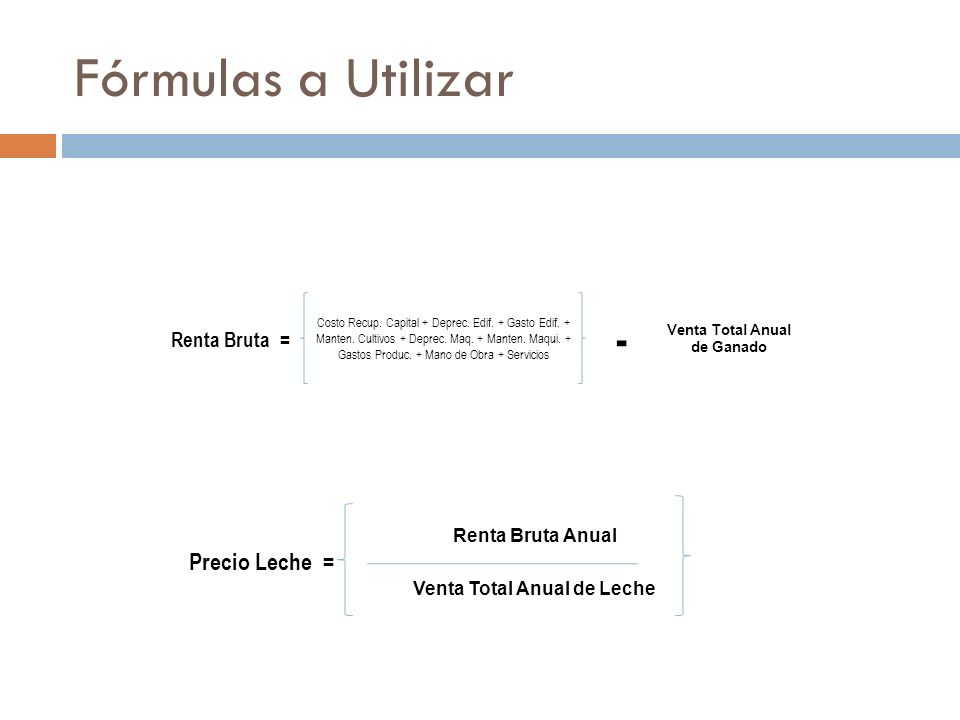 Materiales y Métodos Determinación de los Costos Variables: Cálculo de los Gastos de Mantenimiento de Construcciones e Instalaciones.