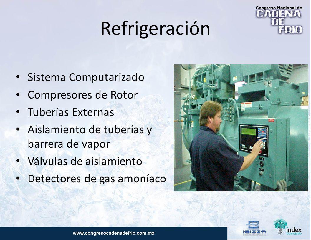 Celulas de Disparo Cercano al cuarto de máquinas Recorrido del Aire Puertas Mantenimiento de puertas de Acceso Medidores de amperaje en MCC Líneas de Drenaje de condensación