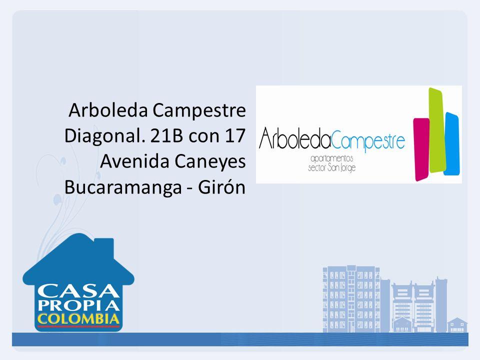 El proyecto Arboleda Campestre, se encuentra ubicado en el Sector de Bucaramanga - Girón, en una zona de alto desarrollo urbanístico y una excelente valorización, el proyecto se encuentra ubicado en estrato 3.