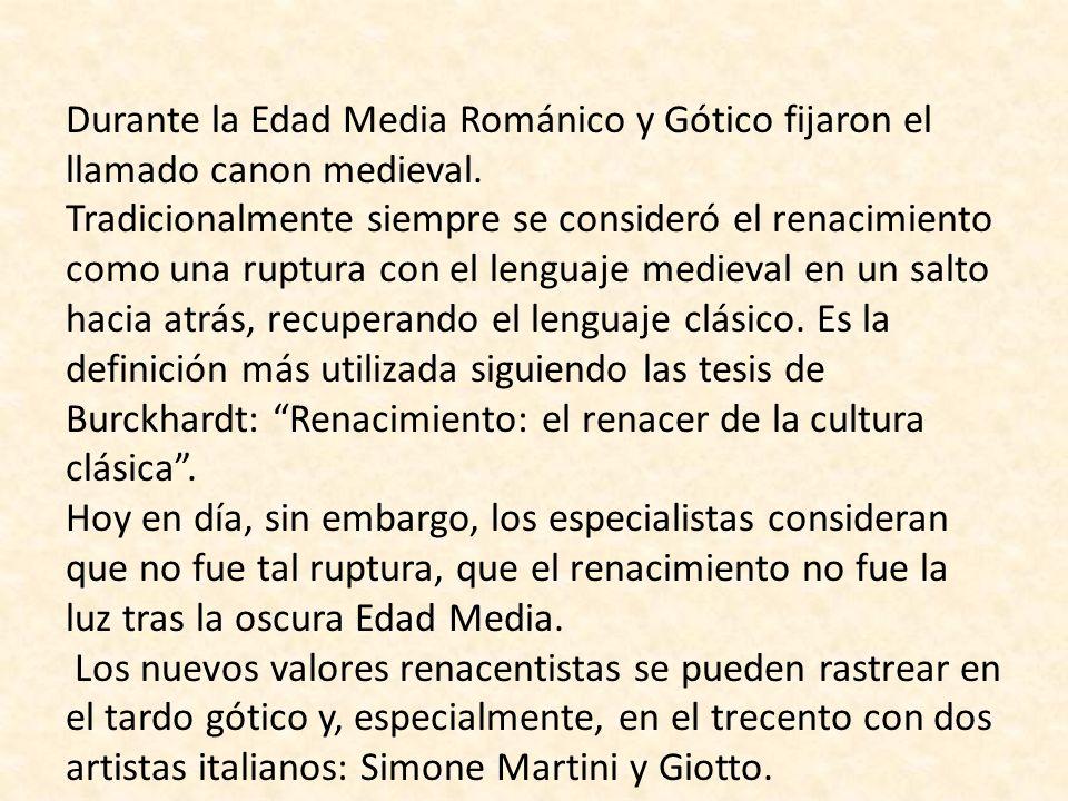 CARACTERÍSTICAS GENERALES DEL RENACIMIENTO 1- Si peregrinación identifica al Románico y piedad al Gótico será la BELLEZA lo que identifique al Renacimiento.