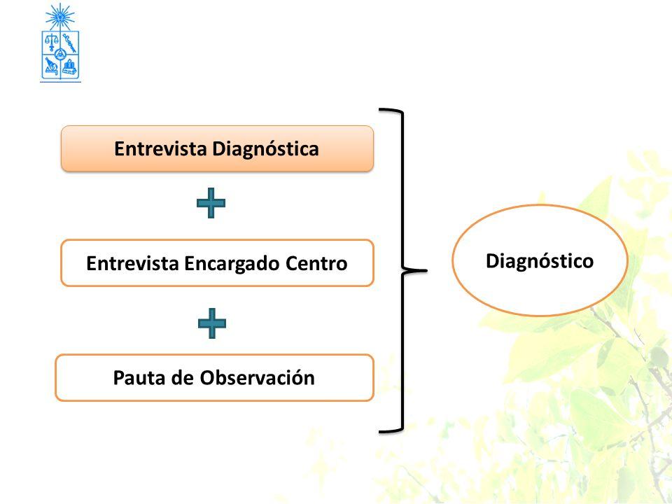Pauta de Observación Entrevista Diagnóstica Entrevista Encargado Centro Diagnóstico