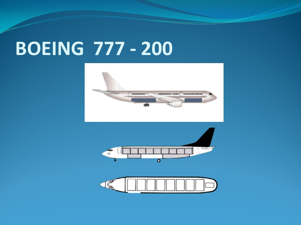 BOEING 777 - 200