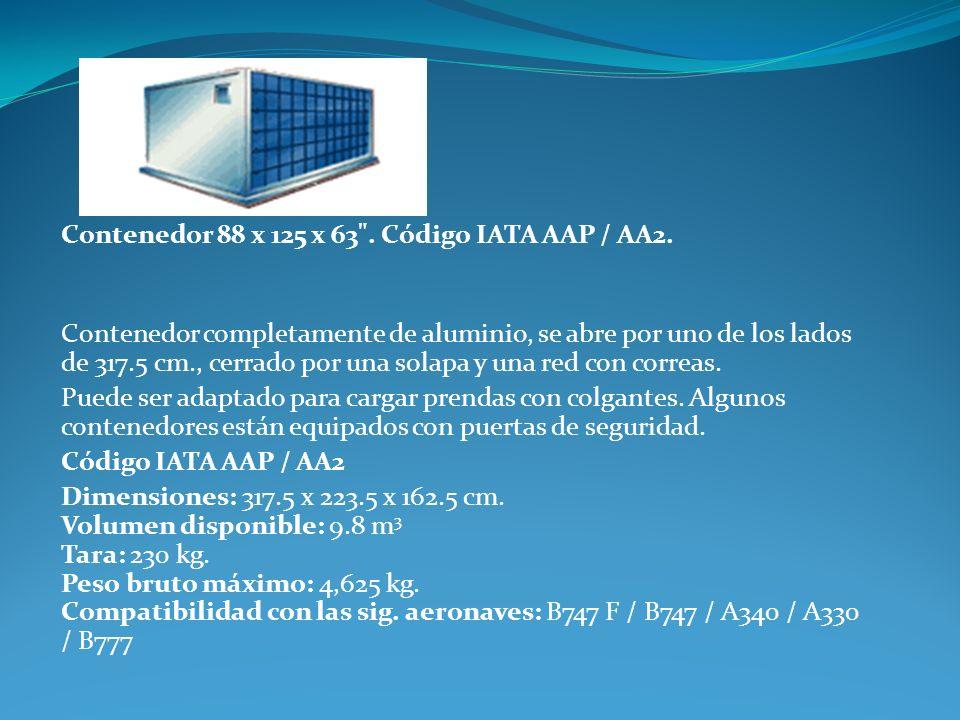 Contenedor 88 x 125 x 63